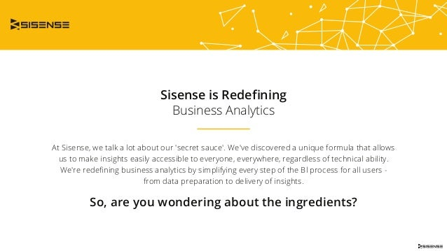 Sisense is Redefining Business Analytics