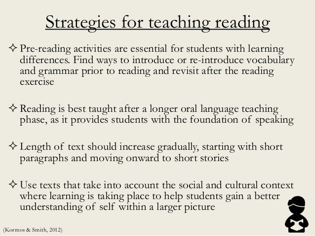 Strategies for teaching reading Pre-reading activities are essential for students with learning differences. Find ways to...