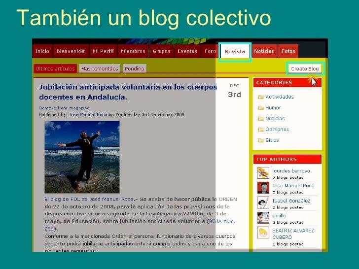 También un blog colectivo