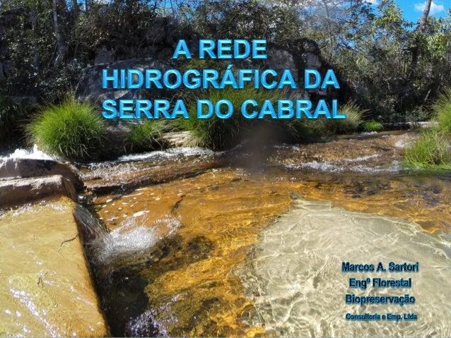 Localização da Serra do Cabral