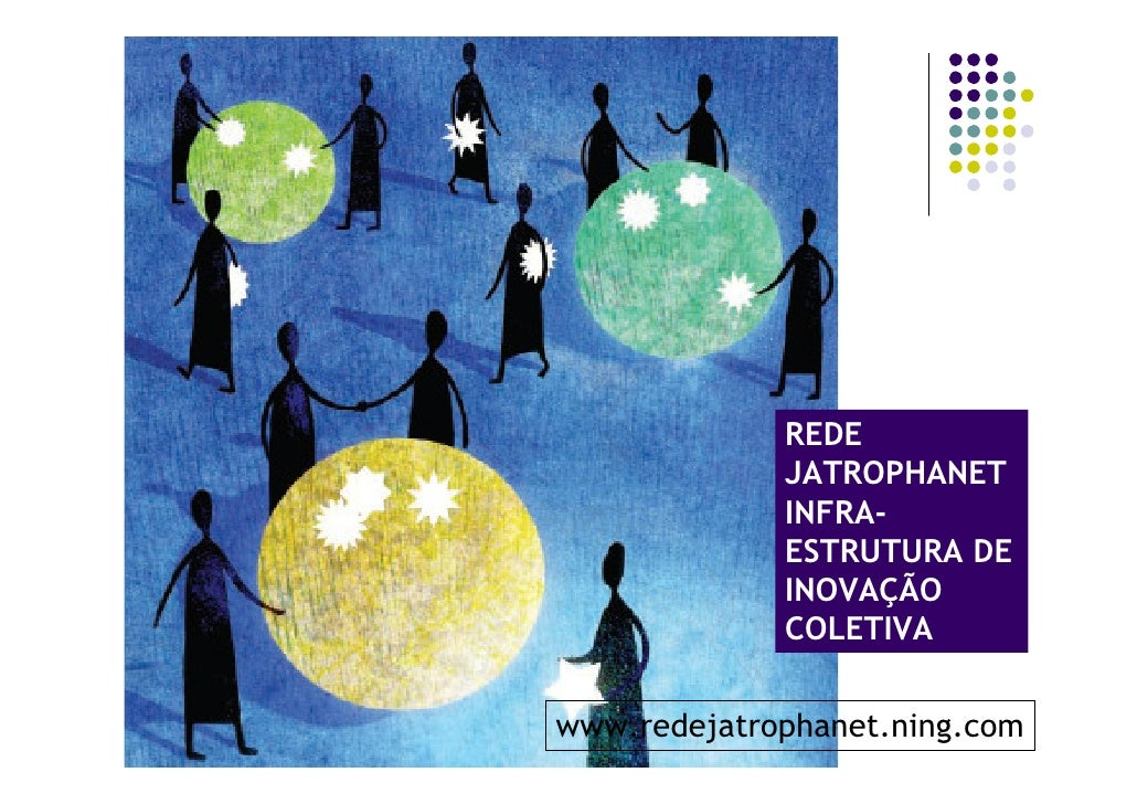 REDE              JATROPHANET              INFRA-              ESTRUTURA DE              INOVAÇÃO              COLETIVA   ...