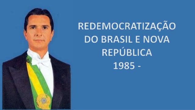 1984 Pressão popular por eleições diretas Fracasso da campanha