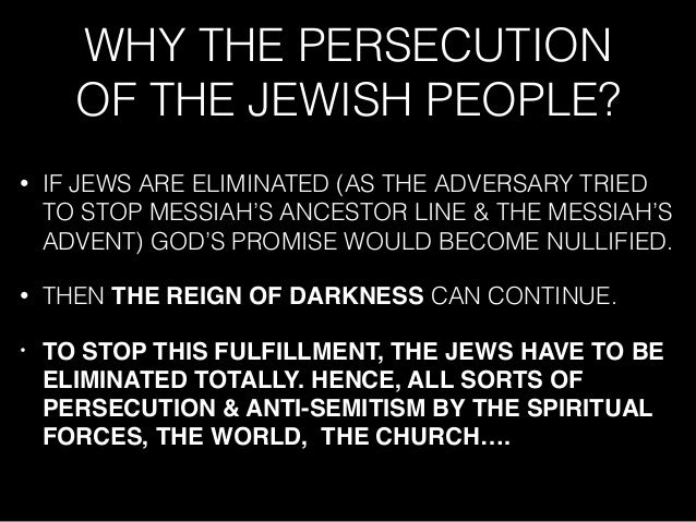 understanding antisemitism and role in the persecution of jews The second part examines depictions of the fable of the murdered jew, which  date  yet their existence complicates our understanding of medieval anti- semitism  recent events, such as the persecutions that occurred during the  crusades.