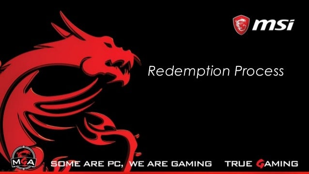 Redemption Process