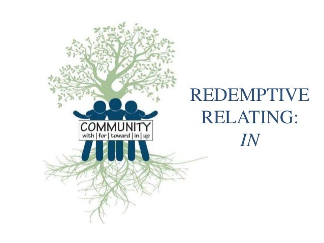 REDEMPTIVE RELATING: IN