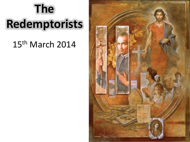 The Redemptorists 15th March 2014