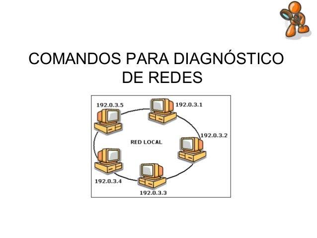 COMANDOS PARA DIAGNÓSTICO DE REDES