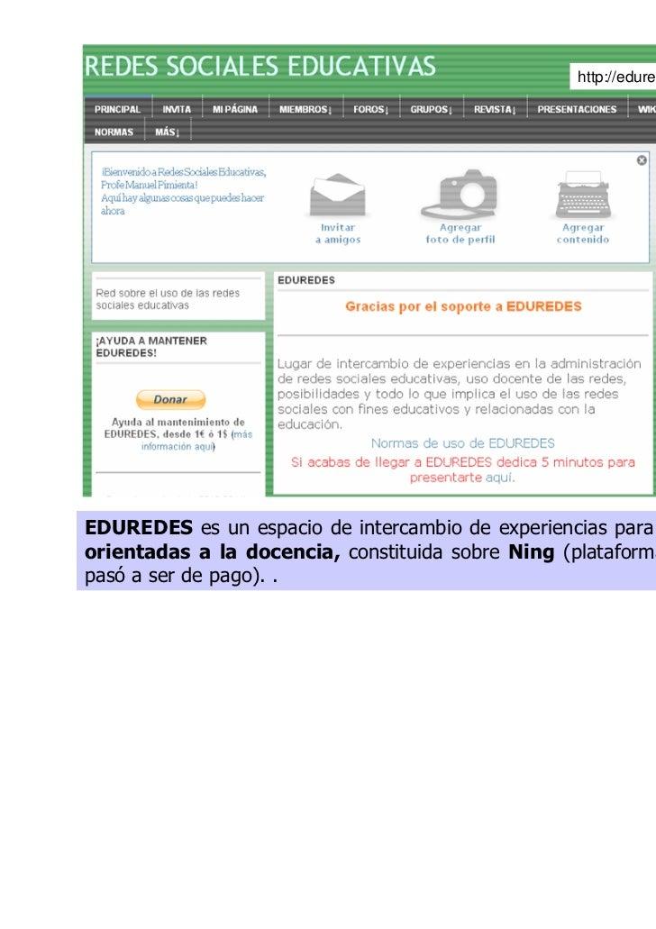 ENREDAD@S (http://enredados.socialgo.com) es una red privada de losalumnos del IES Joaquín Araújo (Fuenlabrada – Madrid), ...