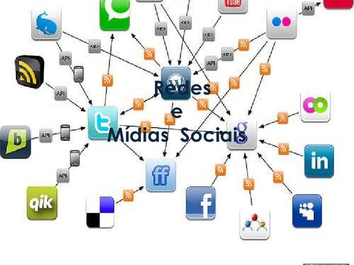 Redes e Mídias  Sociais<br />