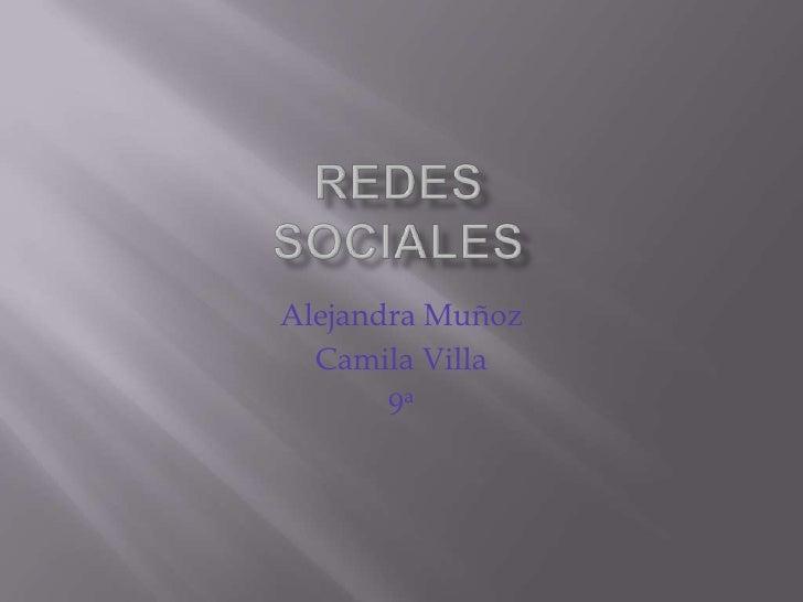Alejandra Muñoz  Camila Villa       9ª