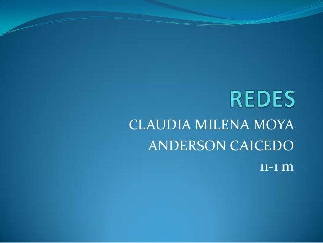 CLAUDIA MILENA MOYA  ANDERSON CAICEDO                11-1 m