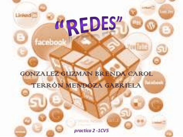 GONZALEZ GUZMAN BRENDA CAROL TERRÓN MENDOZA GABRIELA  practica 2 -1CV5
