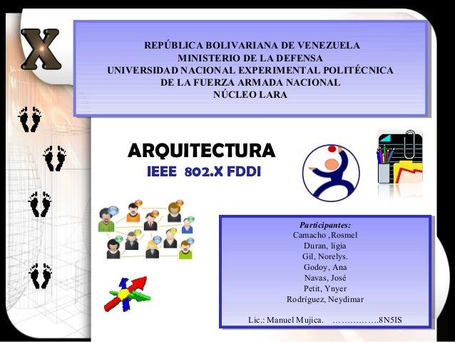 Participantes: Camacho ,Rosmel Duran, ligia Gil, Norelys. Godoy, Ana Navas, José Petit, Ynyer Rodríguez, Neydimar Lic.: Ma...