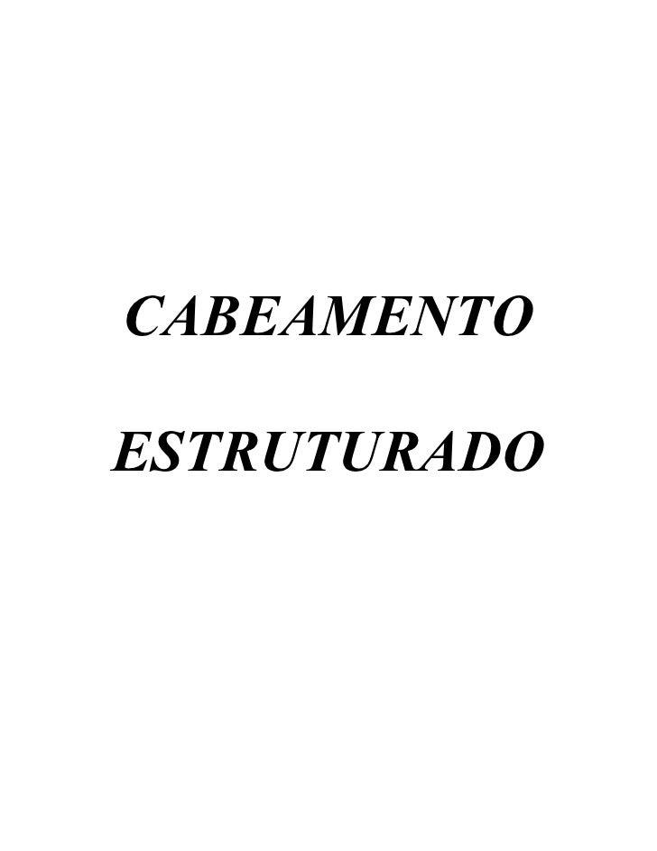 CABEAMENTOESTRUTURADO