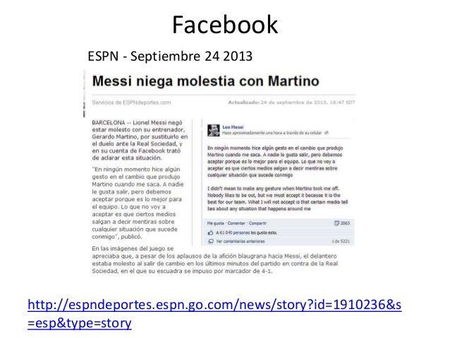 Facebook ESPN - Septiembre 24 2013 http://espndeportes.espn.go.com/news/story?id=1910236&s =esp&type=story