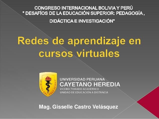 Mag. Gisselle Castro Velásquez