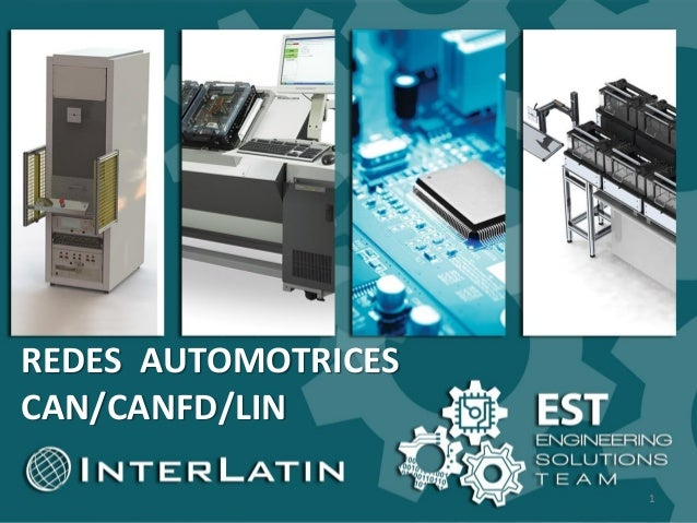 s REDES AUTOMOTRICES CAN/CANFD/LIN 1