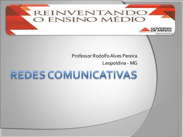 Professor Rodolfo Alves Pereira Leopoldina - MG