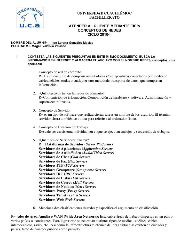 UNIVERSIDAD CUAUHTÉMOC                                                 BACHILLERATO                                       ...