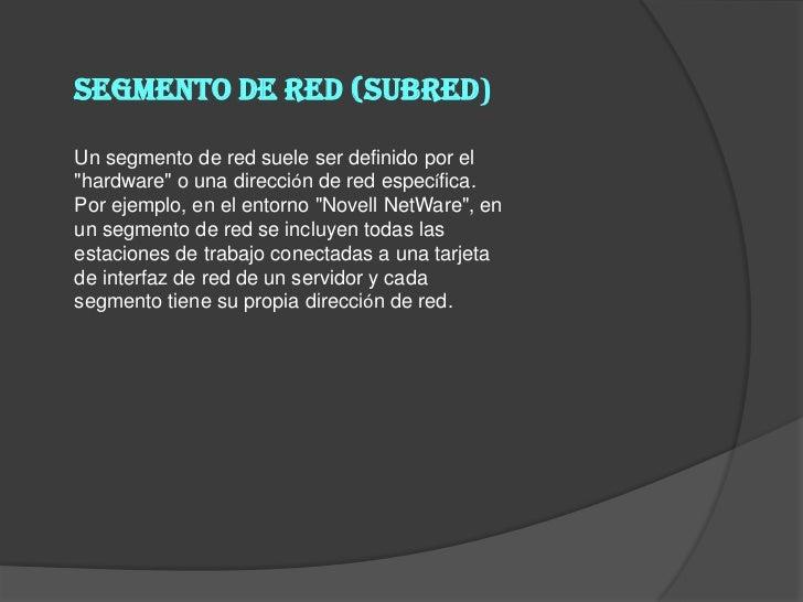 Red de área locales (LAN)