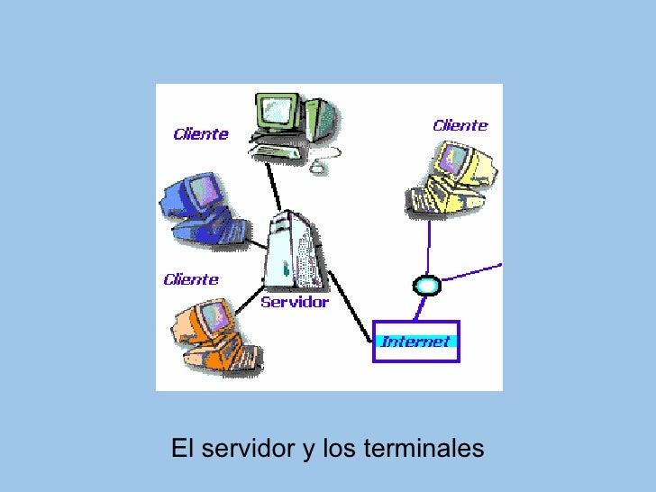 El servidor y los terminales