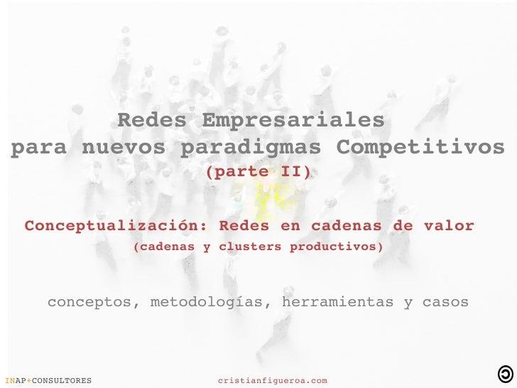 RedesEmpresariales  paranuevosparadigmasCompetitivos                              (parteII)      Conceptua...