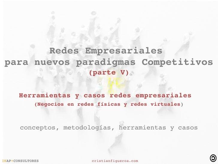 RedesEmpresariales  paranuevosparadigmasCompetitivos                              (parteV)         Herrami...