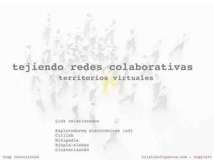 tejiendoredescolaborativas                      territoriosvirtuales                         Linkrelacionados        ...