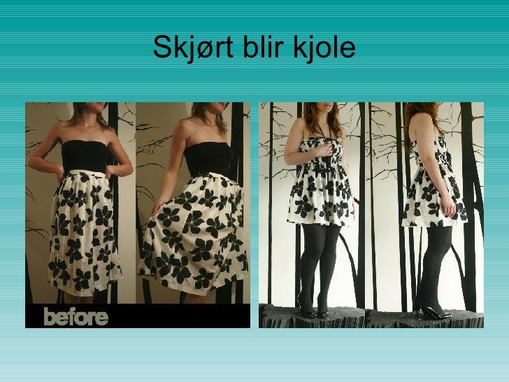 1377d83b Skjorte blir kjole; 9.