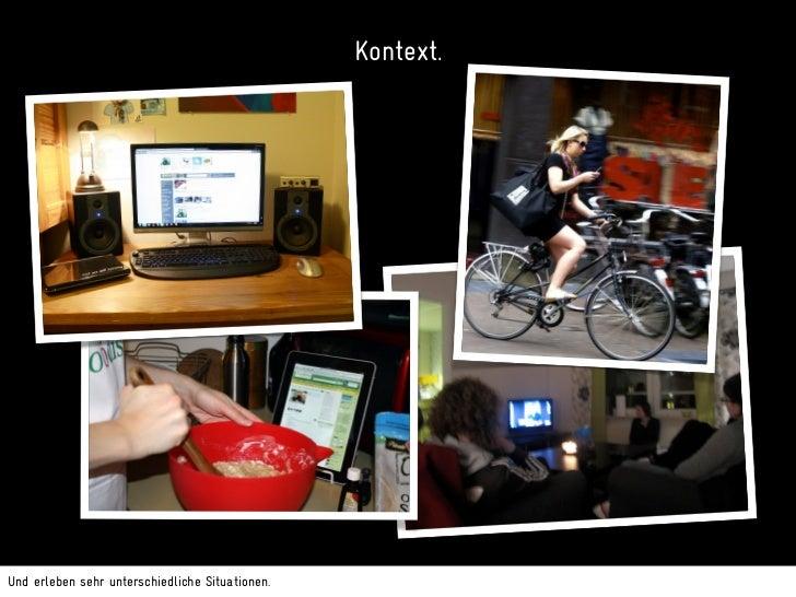 """Reaktionen aus früheren Workshops.Wir haben zahlreiche, sehr unterschiedliche Workshops rund um das """"Ecosystem of Screens""""..."""