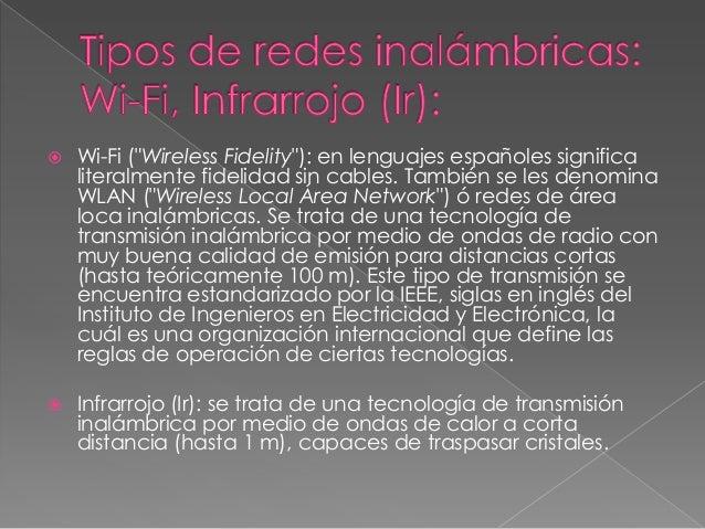 Redes inalámbricas Slide 3
