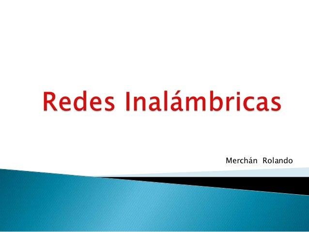 Merchán Rolando