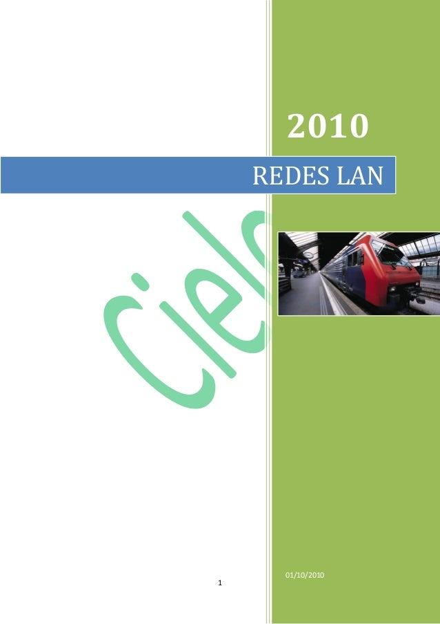 1 2010 01/10/2010 REDES LAN