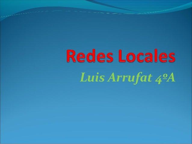 Luis Arrufat 4ºA