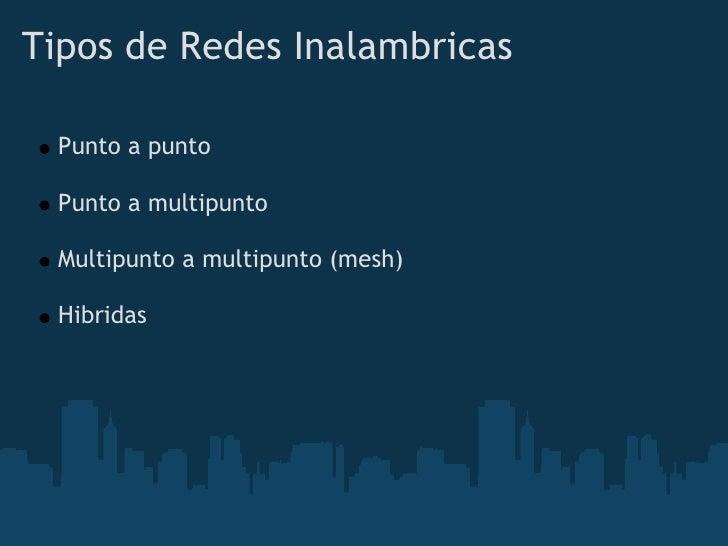 Redes Mesh Comunitarias Slide 3