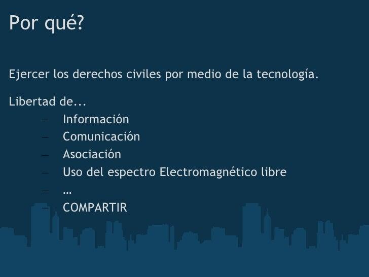 Redes mesh comunitarias Slide 2