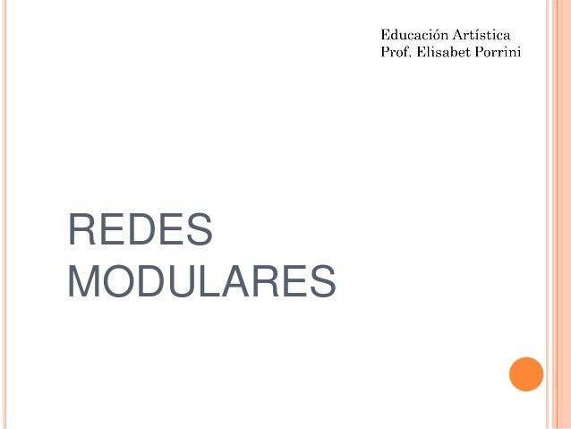 REDESMODULARES