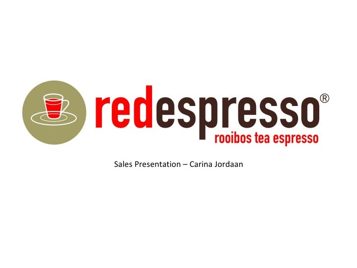 Sales Presentation – Carina Jordaan