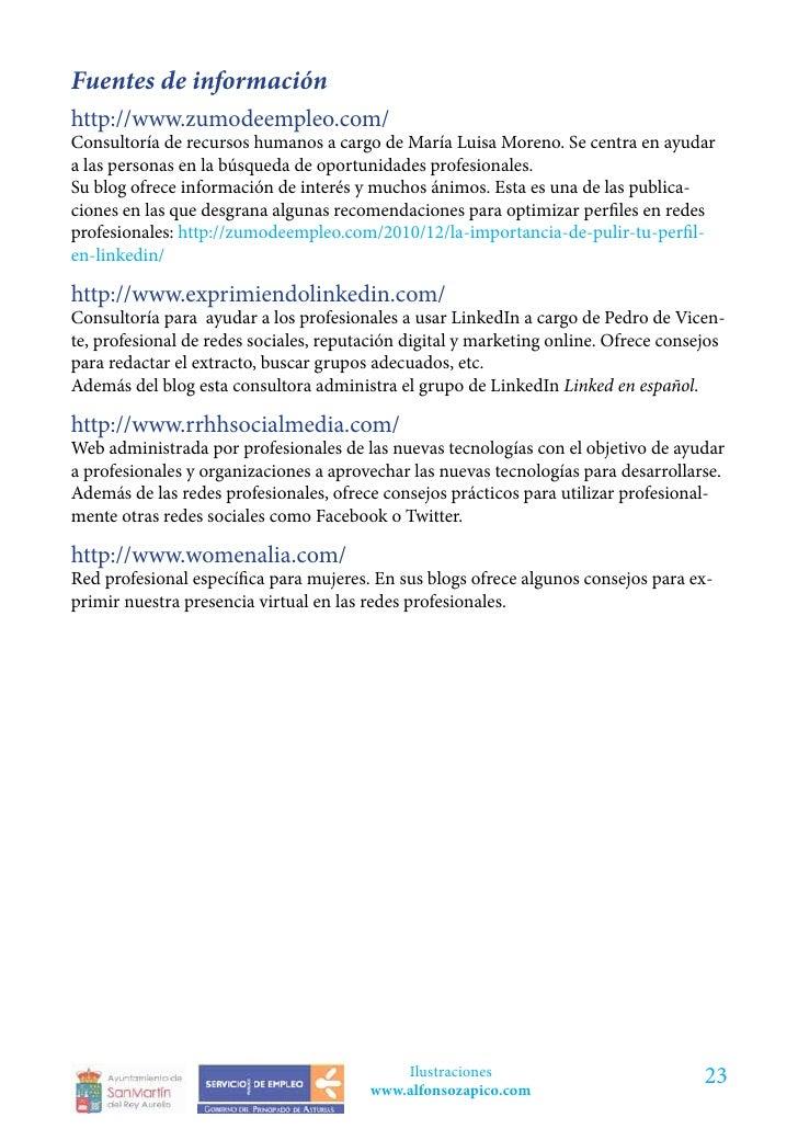 Fuentes de informaciónhttp://www.zumodeempleo.com/Consultoría de recursos humanos a cargo de María Luisa Moreno. Se centra...