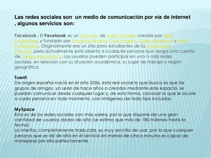 Redes que hubo antes del facebook Slide 2