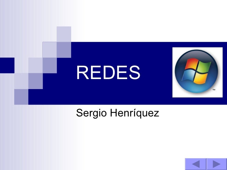 REDES Sergio Henríquez