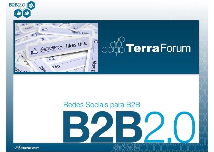 Redes Sociais para B2BB2B2.0
