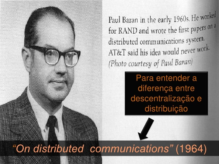 O diagrama original de Paul Baran