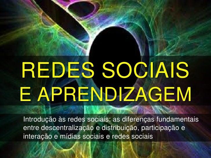 Netweaving 2012INDICAÇÕES DE LEITURAINTRODUTÓRIAS