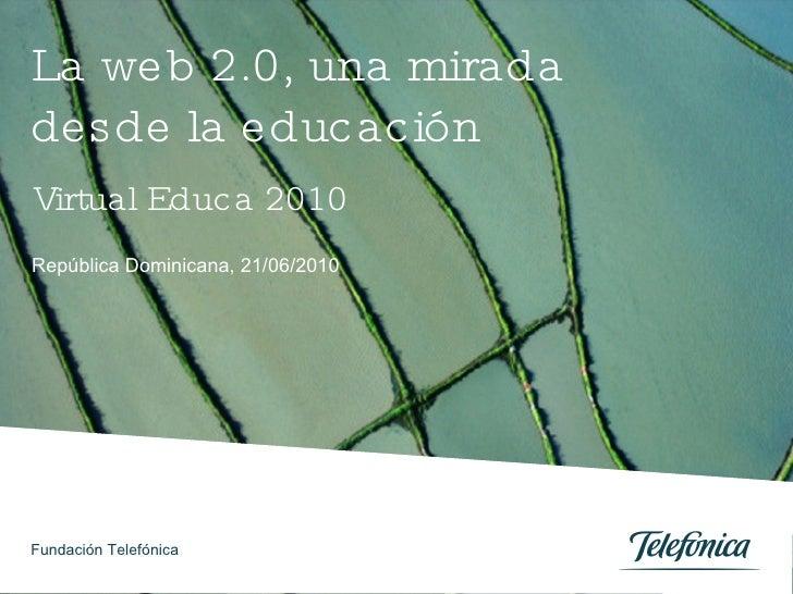 La Web 2.0, una mirada desde la Educación. La experiencia Minha Terra