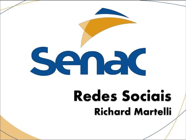 Redes Sociais Richard Martelli
