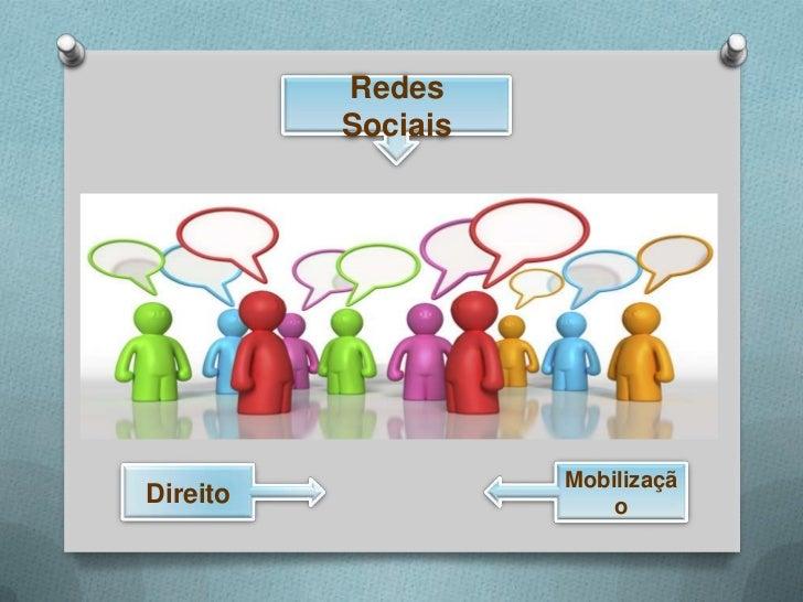 Redes          Sociais                    MobilizaçãDireito                 o