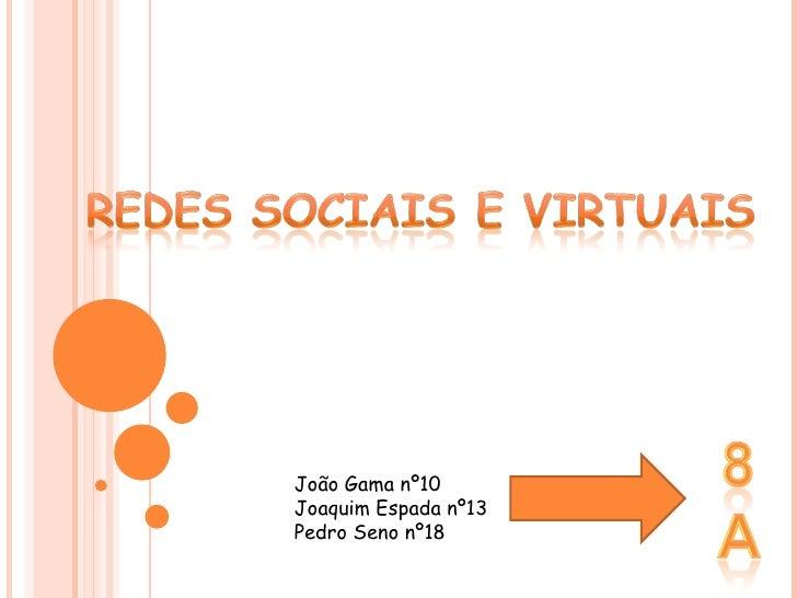 João Gama nº10 Joaquim Espada nº13 Pedro Seno nº18