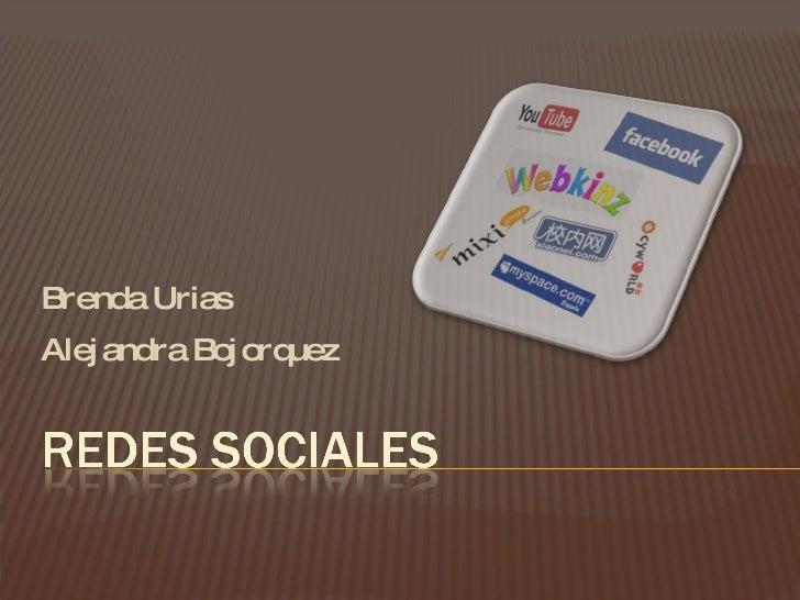Brenda Urias Alejandra Bojorquez