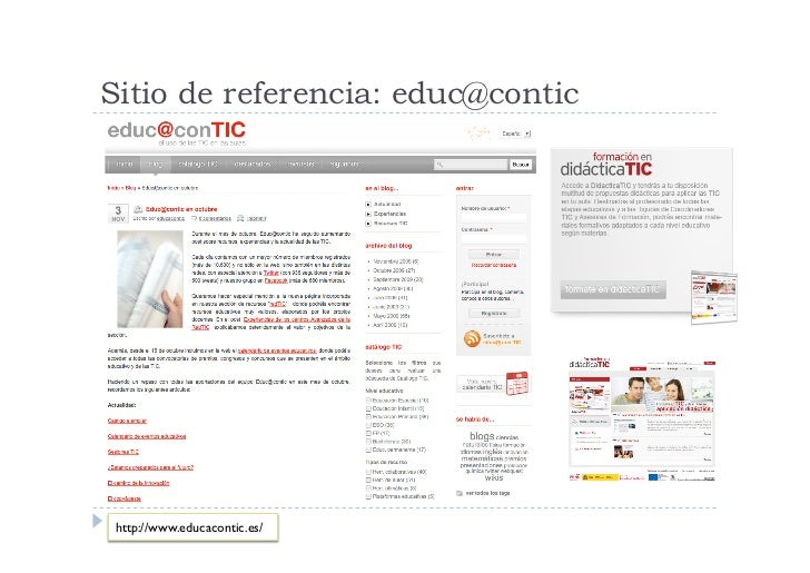 Redes sociales profesores                         http://agorarede.ning.com/                     http://internetaula.ning....